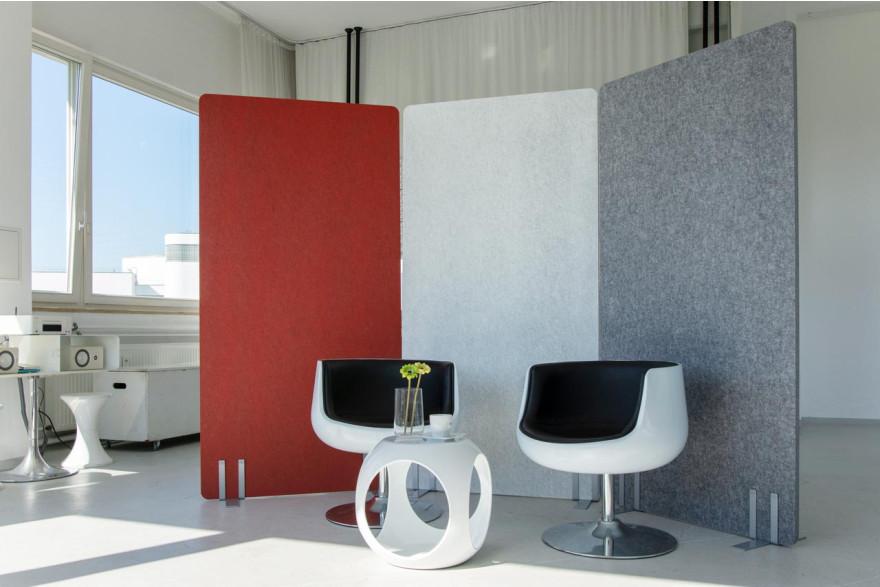 Pinnbare Trennwände | Schallschutz Büro | Akustiktrennwand