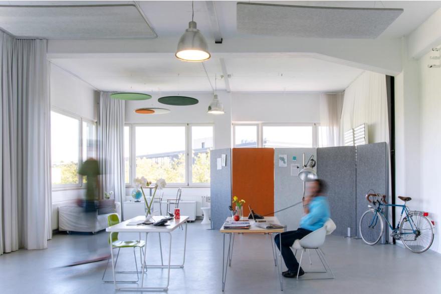 pure Stellwände | Akustik-Trennwände für Büros