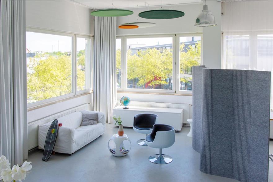 flexible trennw nde schallschutz b ro stellw nde grau. Black Bedroom Furniture Sets. Home Design Ideas