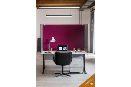 Tischabtrennung | Akustiktrennwand | Schreibtisch Trennwand